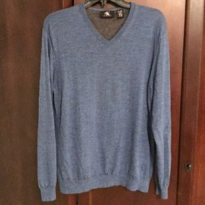 Men's Calvin Klein merino wool sweater size XL